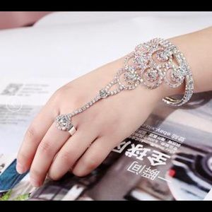 Fashion Bracelet with Ring
